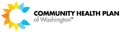 Community Health Plan of Washington - white